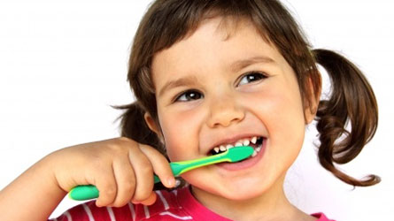 Brushing Teeth Makes Healthy Smiles